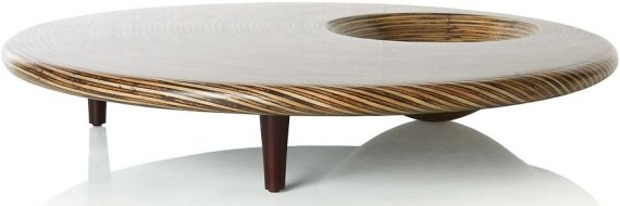 Bajalvo Round Coffee Table Modern End Tables Gl