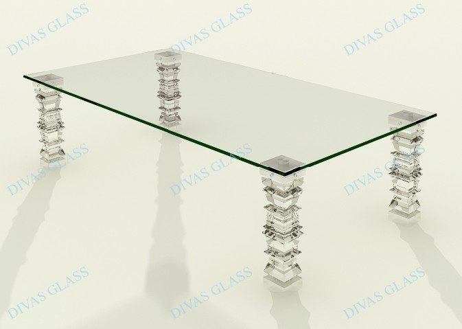 Base For Glass Coffee Table Small Tables Usually Have One Base Larger Tables Sometimes Have Two Or More Bases (Image 7 of 10)