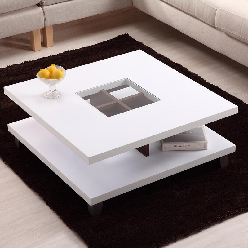 Featured Photo of Best Modern White Coffee Tables