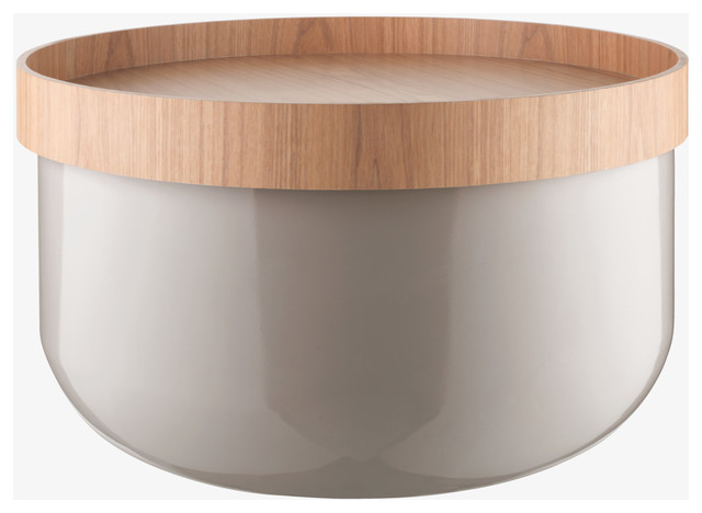 Featured Photo of Modern Round Storage Coffee Table