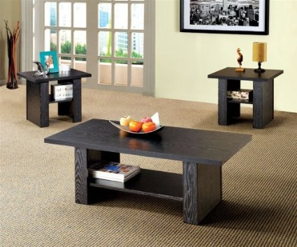 Black Coffee Table Set With Many Coffee Tables That Has Amazing Design With Drawers It Is Safer To Have Those With Drawers Than Without (Image 9 of 10)