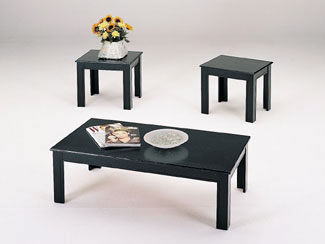 Black Coffee Table Set Simplest Way To Have This Extra Function Is To Have Coffee Table With Drawers The Drawer Can Be Visible But There Is Also Some Design (Image 7 of 10)