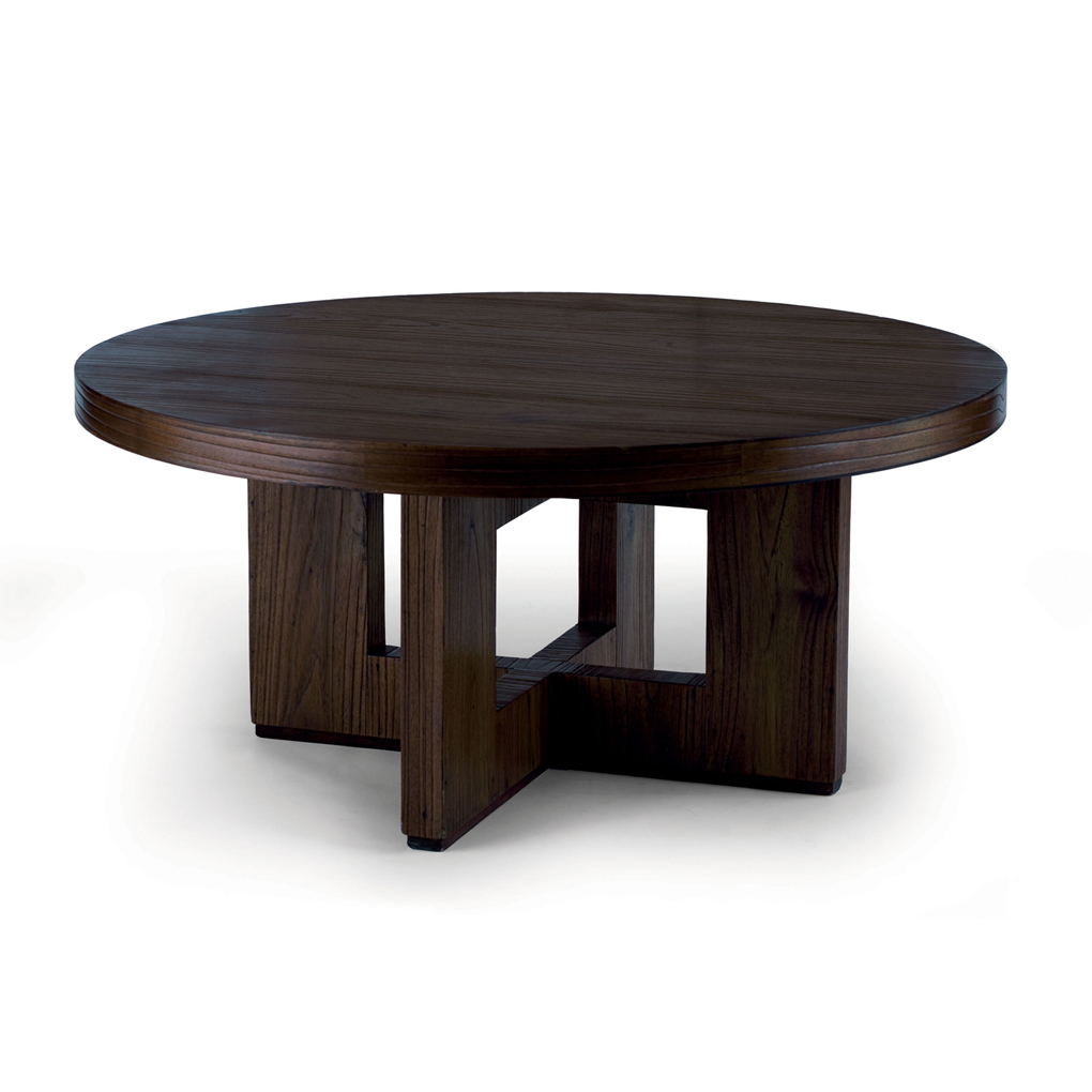 black-hampton-round-coffee-table-wooden-round-coffee-table-round-coffee-tables-home-interior (Image 1 of 10)
