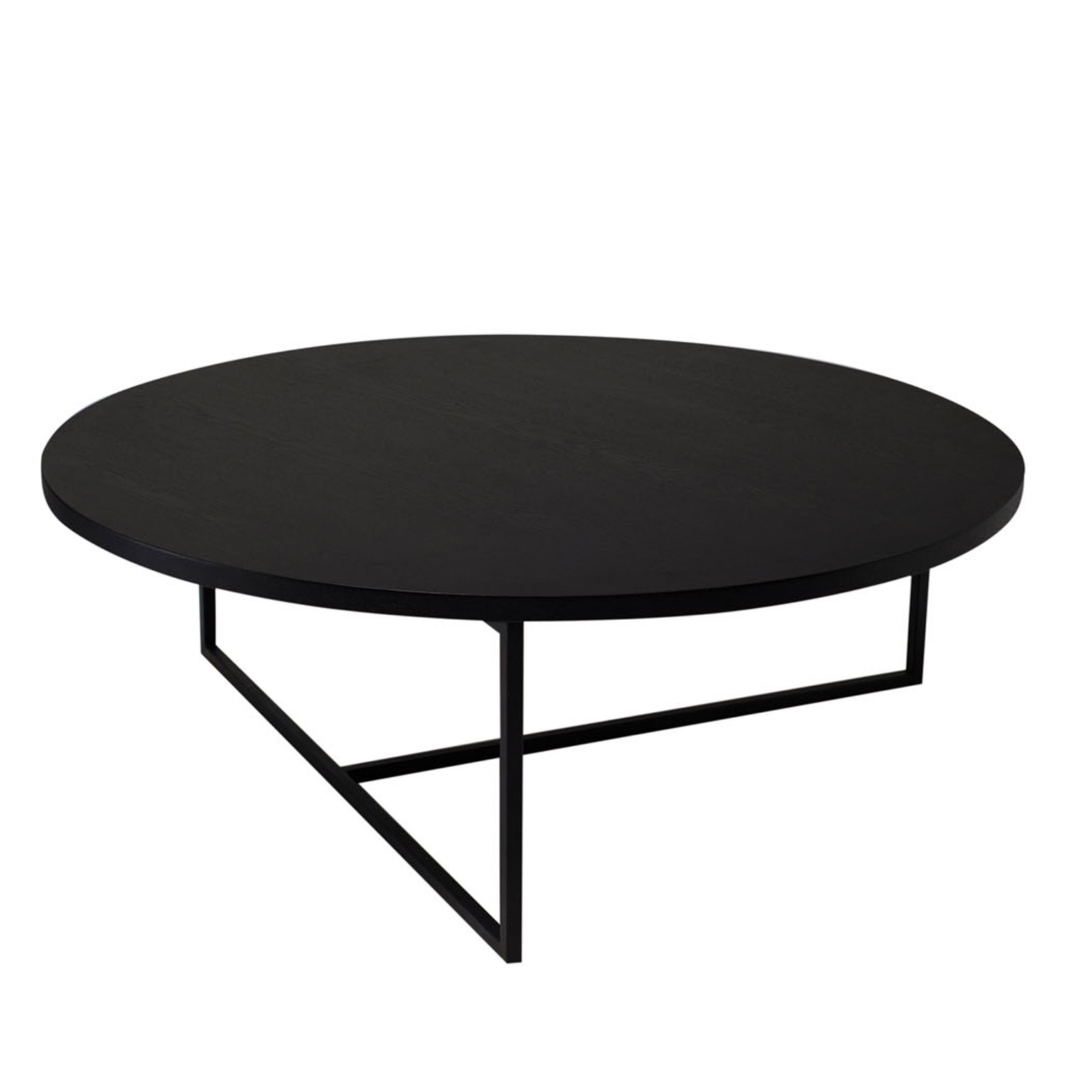Black Round Coffee Tables Dolf Round Coffee Table Black Ash Sofa Table Round Coffee Table Amazon Black Round End Tables (Image 3 of 10)