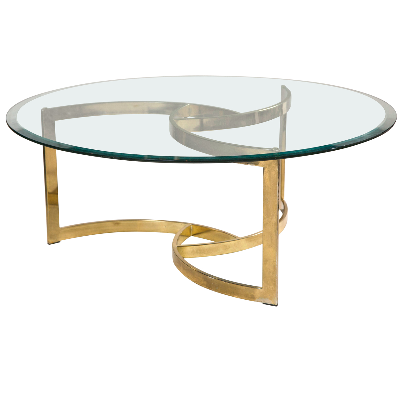 brass-coffee-tables-glass-top-rou-rass-coffee-table-brass-coffee-table-base-round-brass-and-glass-tables (Image 2 of 10)