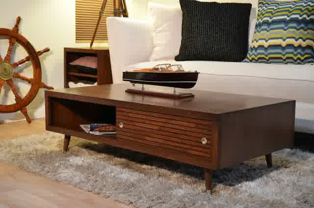 Brown Modern Wood Coffee Table Reclaimed Metal Mid Century Round Natural Diy All Cheap White Danish Modern Coffee Table (View 1 of 10)