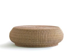 Featured Photo of Wicker Coffee Table Ottoman