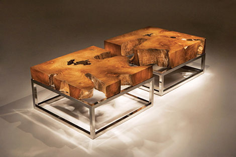 Chista Landscape Teak Coffee Table Rustic Teak Coffee Table Natural Ideas Free Download (View 3 of 10)