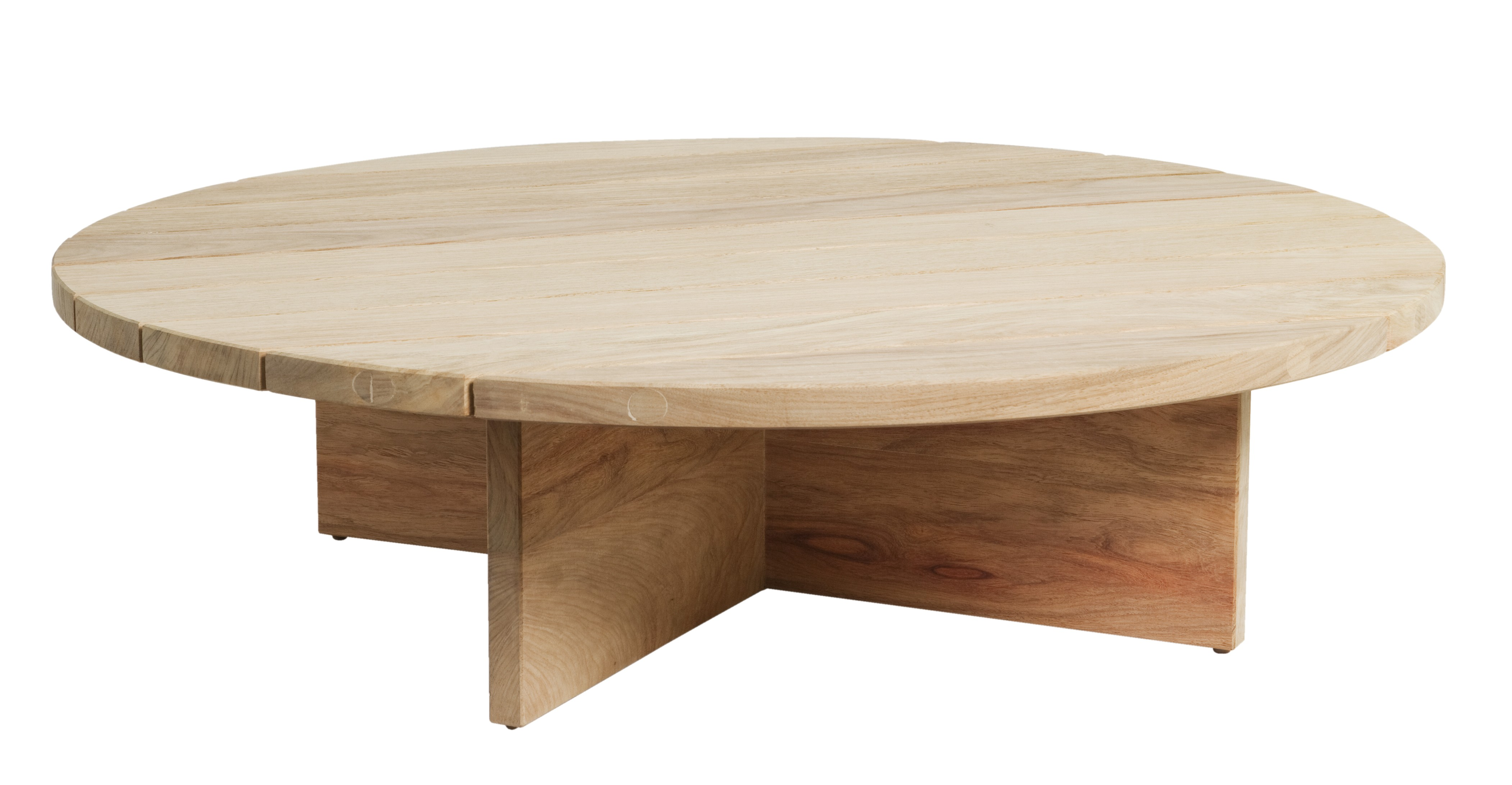 Chunky Coffee Table Round Round Timber Coffee Table Round Brown Simple Lacquered Big Coffee Table (Image 2 of 10)