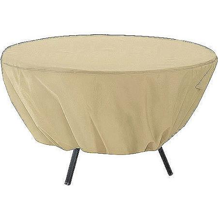 Classic Accessories Terrazzo Round Patio Table Cover Fits Up To 50inch Diameter Round Patio Coffee Table (View 3 of 10)