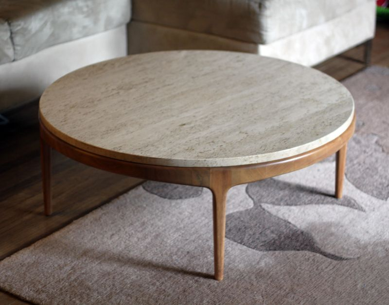 Featured Photo of Round Ottoman Coffee Table