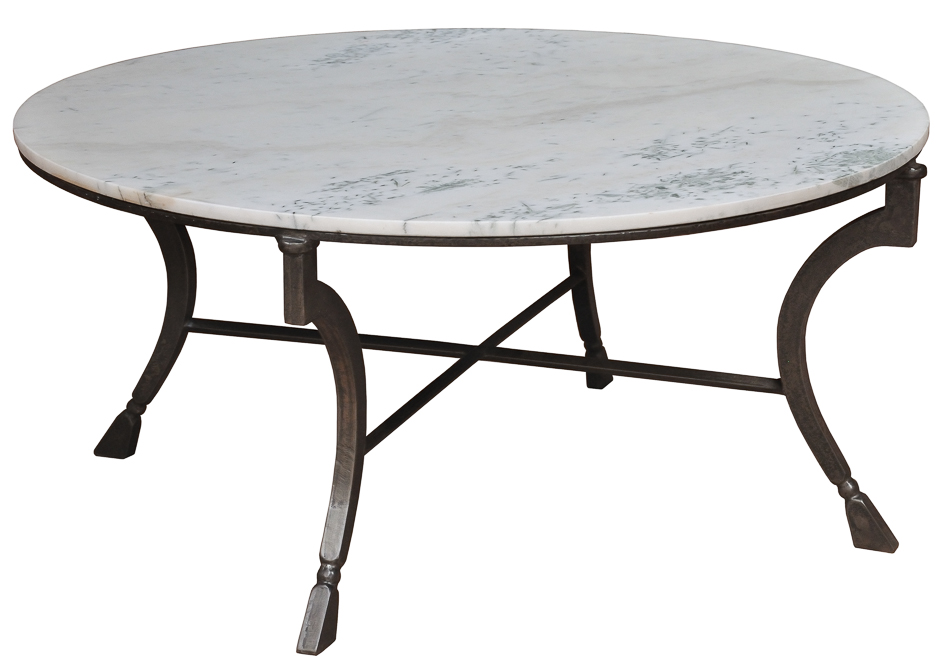 Coffee Table Round Stone Top Coffee Table 42 Round Stone Top Coffee Table 42 Round Coffee Table (View 5 of 10)