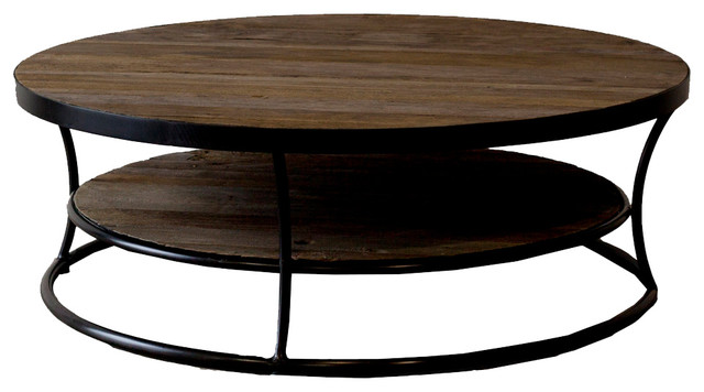 Coffee Table Round Wood Coffee Tables All Products Living Coffee And Accent Tables Round Coffee Tables Wood (Image 2 of 10)