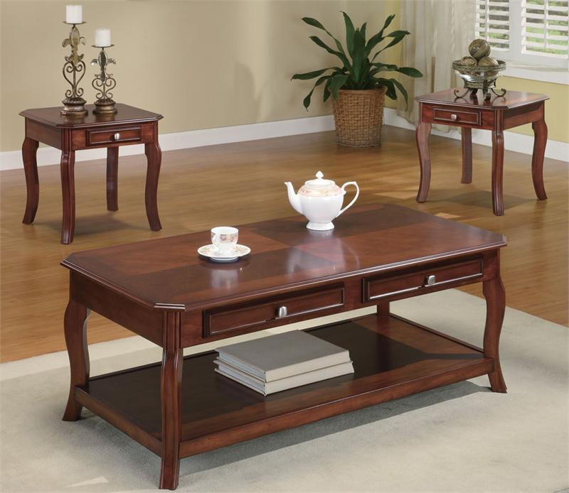 Coffee Table Sets On The Carpet And End Table Set Fabulous Coffee Table Sets Complete On Carpet Square Shape Wood Ideas (Image 5 of 10)