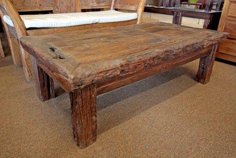 Coffee Table Teak Rustic Coffee Table Teak Rustic Rustic Teak Coffee Table Square Shape Ideas Natural (View 4 of 10)