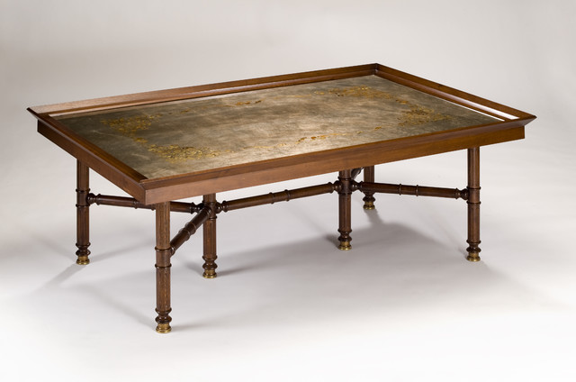 Coffee Table Wood And Glass Lasia Coffee Table 30 X 54 This Table Is Made From Antique Wood Inquire About This Item Now Wooden (Image 6 of 10)