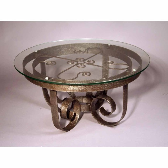 Coffee Table Wrought Iron Round Coffee Table Iron