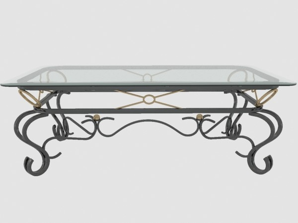 Coffee Tables Metal And Glass Beautiful Coffee Table Which Is A Durable Product That Contains Metal Construction Which Proves Its Durability (Image 1 of 10)
