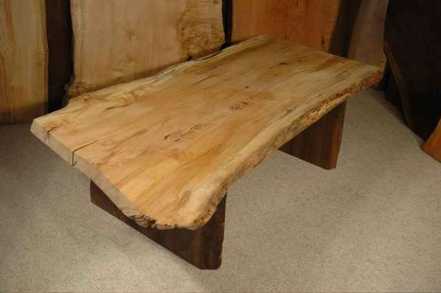 coffee_table_maple_Custom-Rustic-Slab-Rustic-Coffee-Tables-maple-slab-Rustic-Coffee-Tables-For-Sale (Image 3 of 9)
