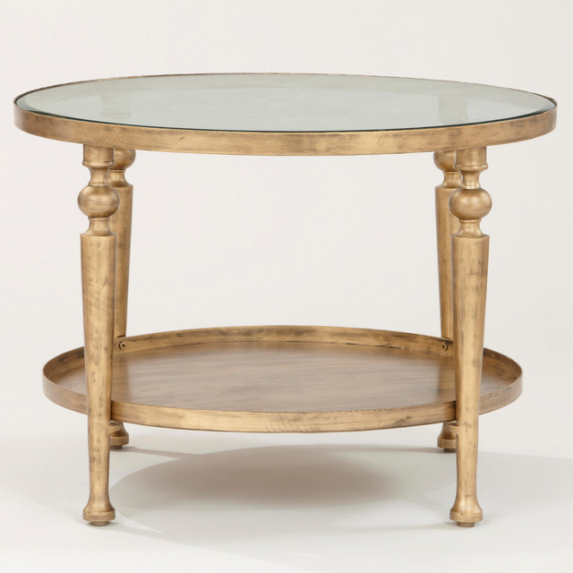 Contemporary Coffee Tables Maple Small Round Shaker Coffee Table (View 2 of 9)