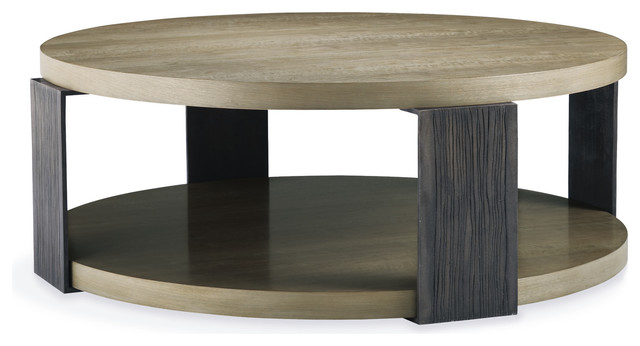 contemporary-coffee-tables-Newberry-Round-Coffee-Table-traditional-coffee-tables (Image 2 of 10)