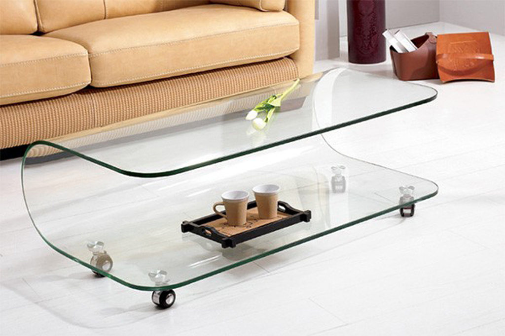 Contemporary Glass Coffee Table Before Buying One You Should Have An Idea Of Where You Want To Put To Attract The Eye Of The Beholder (Image 2 of 7)