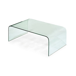 Contemporary Glass Coffee Table Euro Style Ginny Glass Coffee Table Contemporary Coffee Tables (Image 4 of 7)