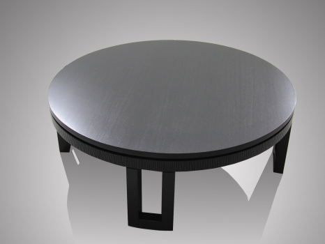 Contemporary Round Coffee Tables Oriental Design Contemporary Furniture Kan Round Coffee Table Modern Coffee Tables (Image 2 of 10)