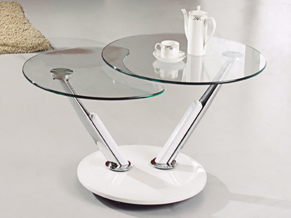 Contemporary Round Glass Coffee Table How To Make