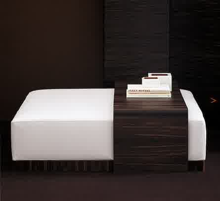 Popular Photo of Simple Contemporary Ottoman Coffee Table
