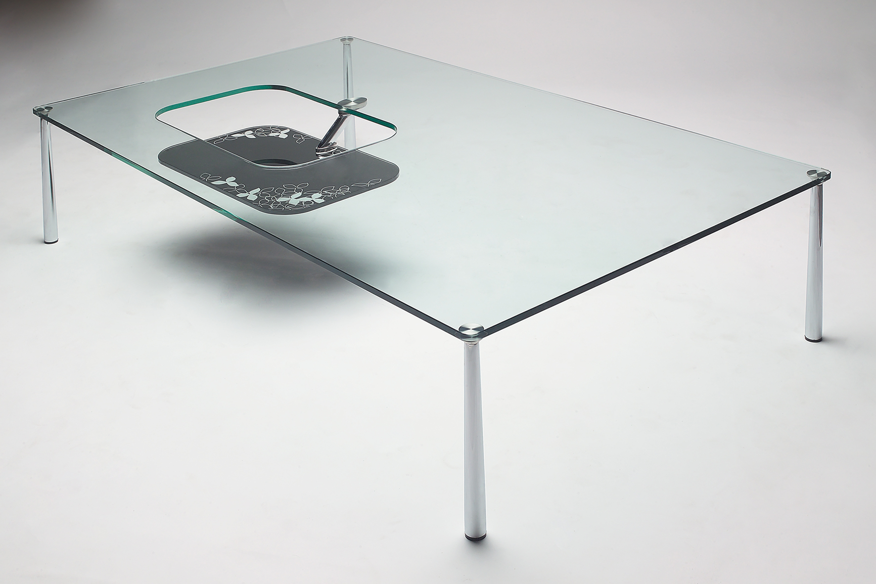 2017 Popular Unique Custom Glass for Coffee Table