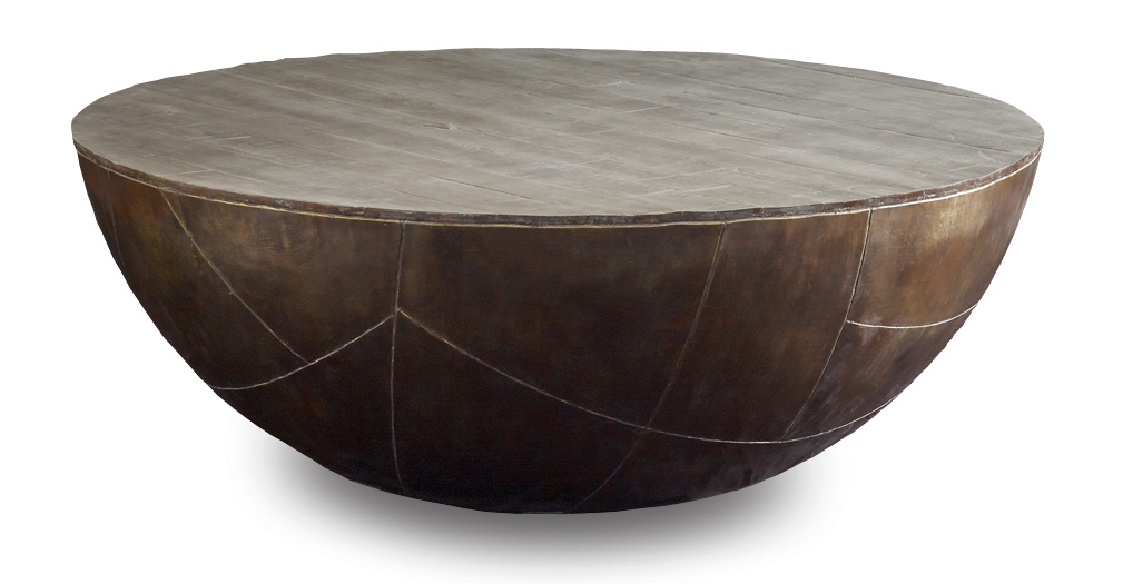 delano-drum-coffee-table-solid-round-coffee-table-solid-wood-coffee-tables-solid-teak-round-coffee-table (Image 4 of 10)