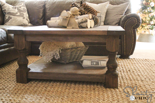 Diy Furniture Coffee Table Round Or Square Coffee