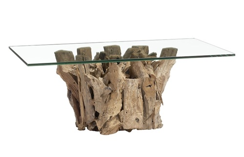 driftwood-Rustically-rustic-coffee-tables-with-glass-of-the-top-Rustic-Glass-Coffee-Table (Image 5 of 10)