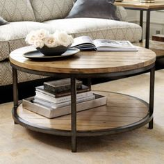 Durham Round Coffee Table 18.25 Inch H X (View 3 of 10)