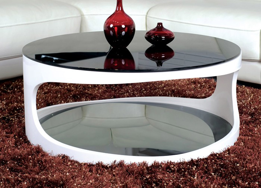 elegant-black-white-round-top-glass-coffee-table-modern-round-coffee-table-with-storage-modern-table-design (Image 2 of 10)