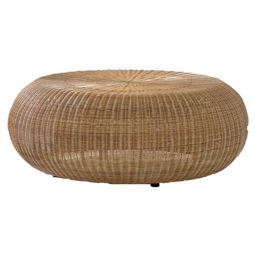 Enjoy A Refreshing Drink In The Outdoors On The Chic Malibu Coffee Table The Waterfront Escape Calls For A Fresh Injection Of Simple Style And The Malibu Rattan Round Cof (Image 2 of 10)
