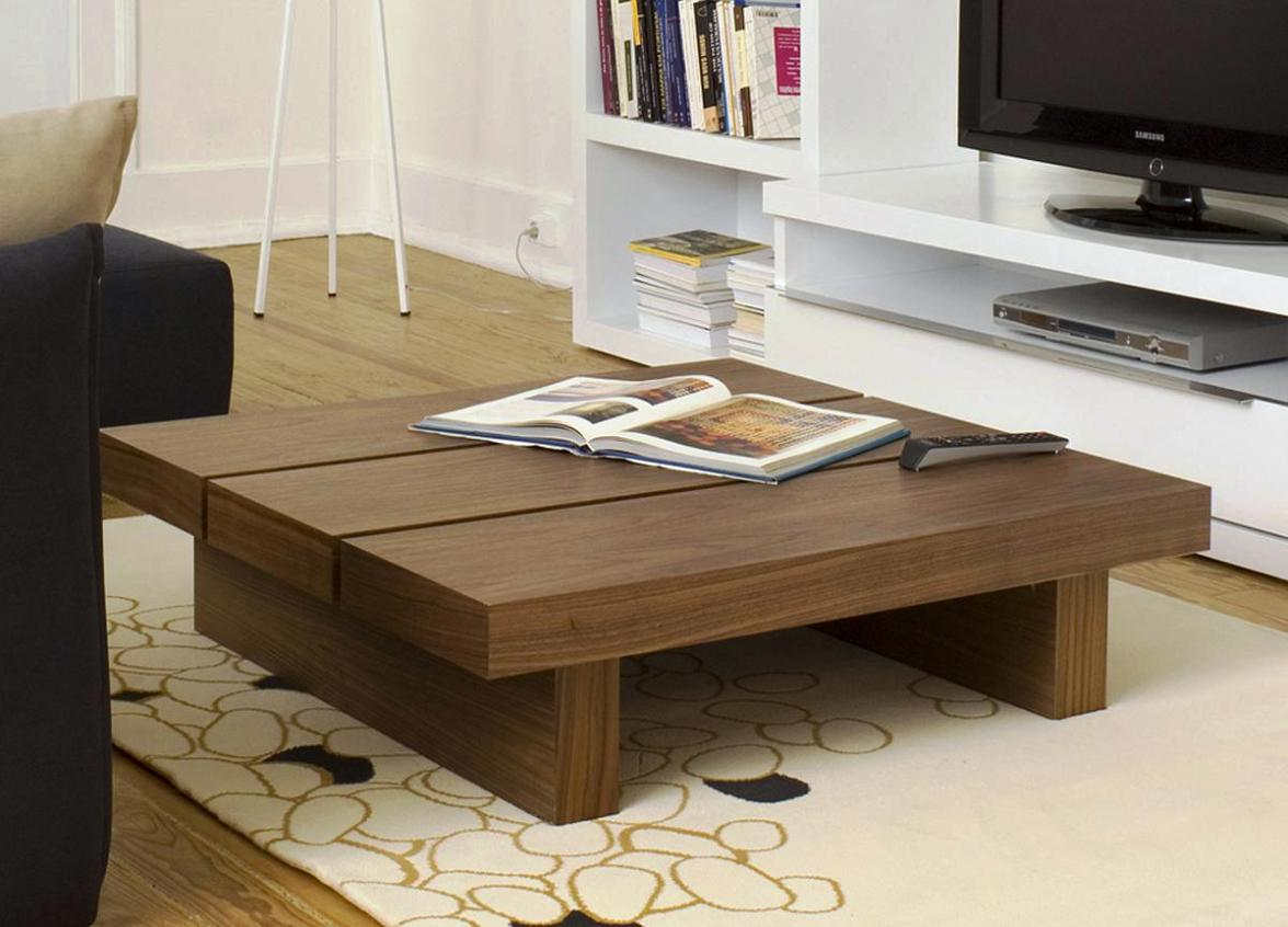 Extra Large Brown Wooden Laminated Coffee Table Oversized Round Coffee Tables Extra Large Round Coffee Table (View 3 of 10)