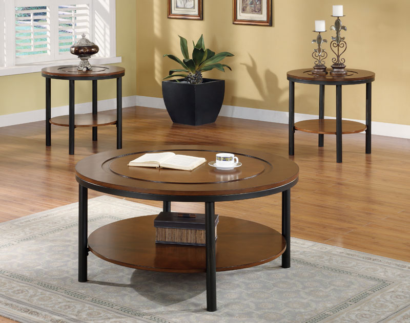 Fabulous Coffee Table Sets Completed With End Tables Wayfair Coffee Table Sets Round Coffee And End Table Sets (Image 5 of 10)