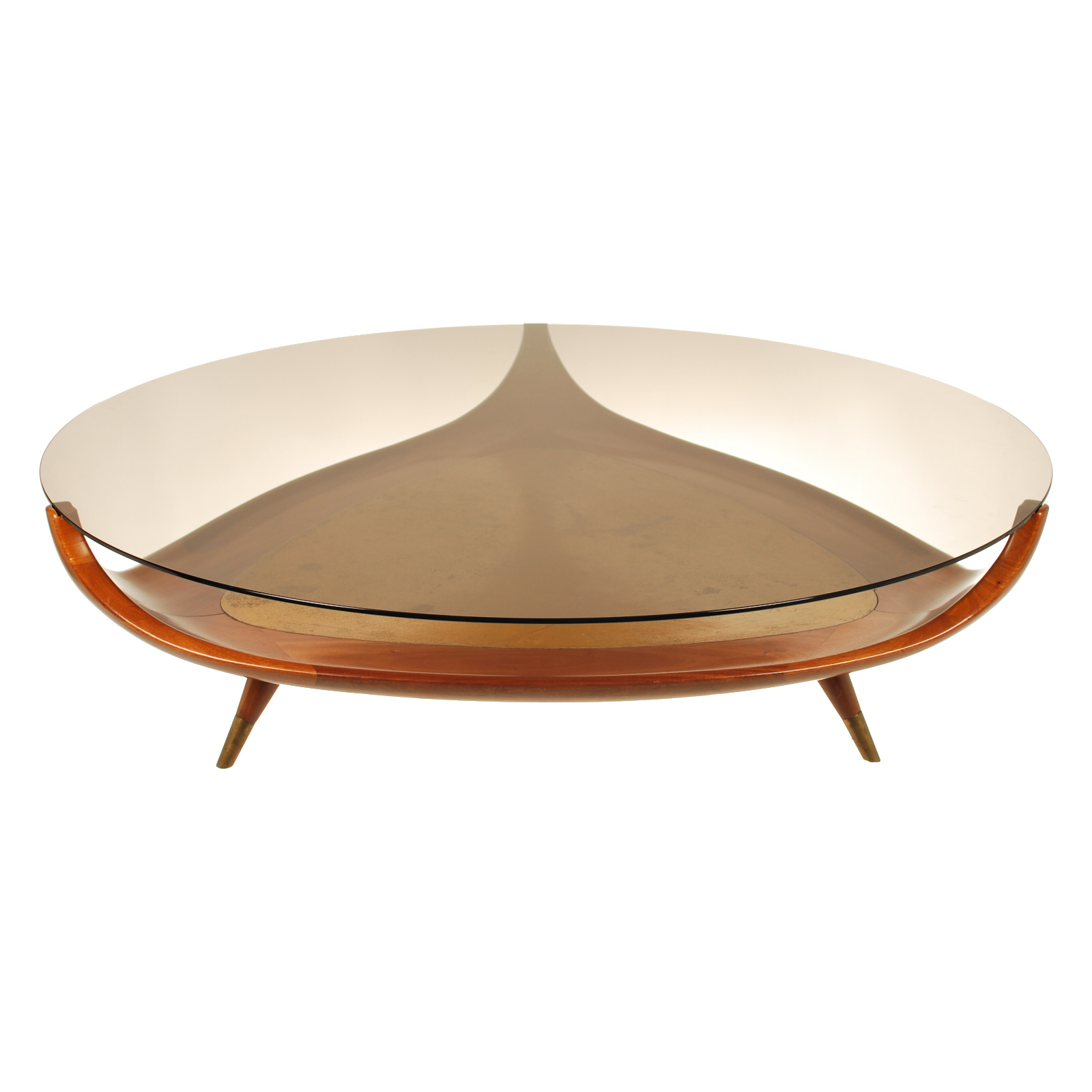 10 Best Unique Round Wood and Glass Coffee Table
