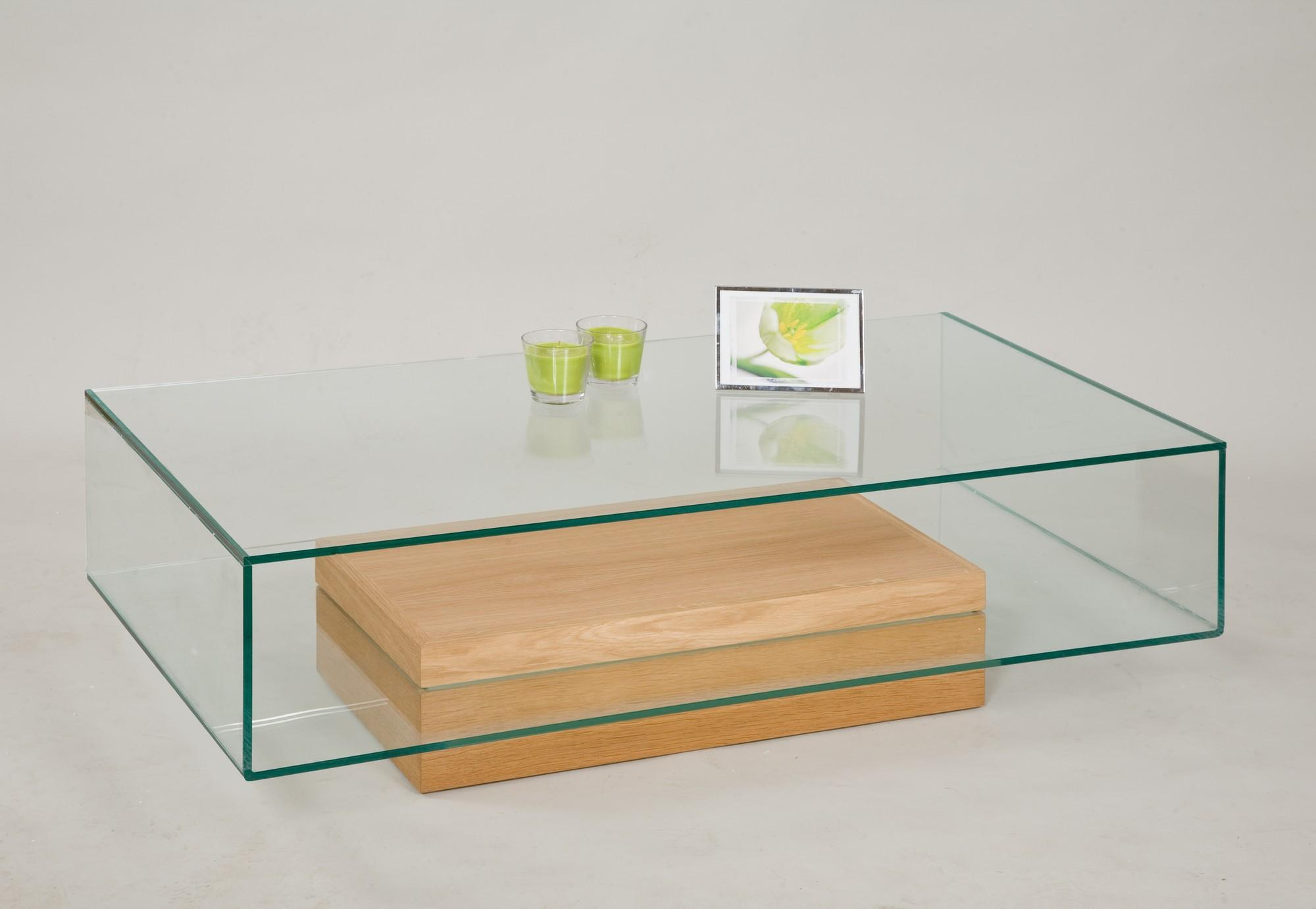 9 Inspirations of Glass and Dark Wood Coffee Table