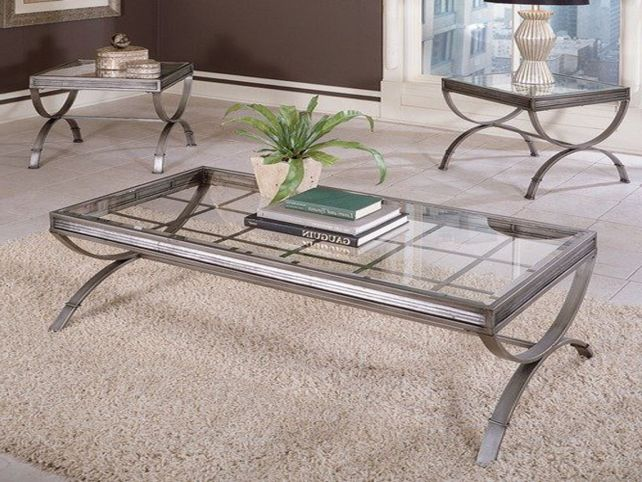 glass-and-silver-coffee-table-in-order-to-be-fascinating-minimalist-interior-which-is-facilitated-with-compact-shaped-looks-spacious (Image 2 of 9)