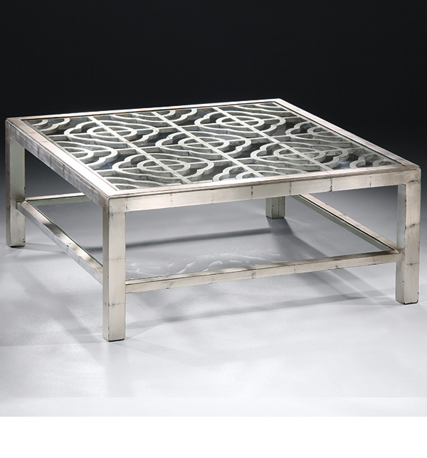 Silver Metal And Glass Coffee Table: Best 9+ Of Glass And Silver Coffee Tables