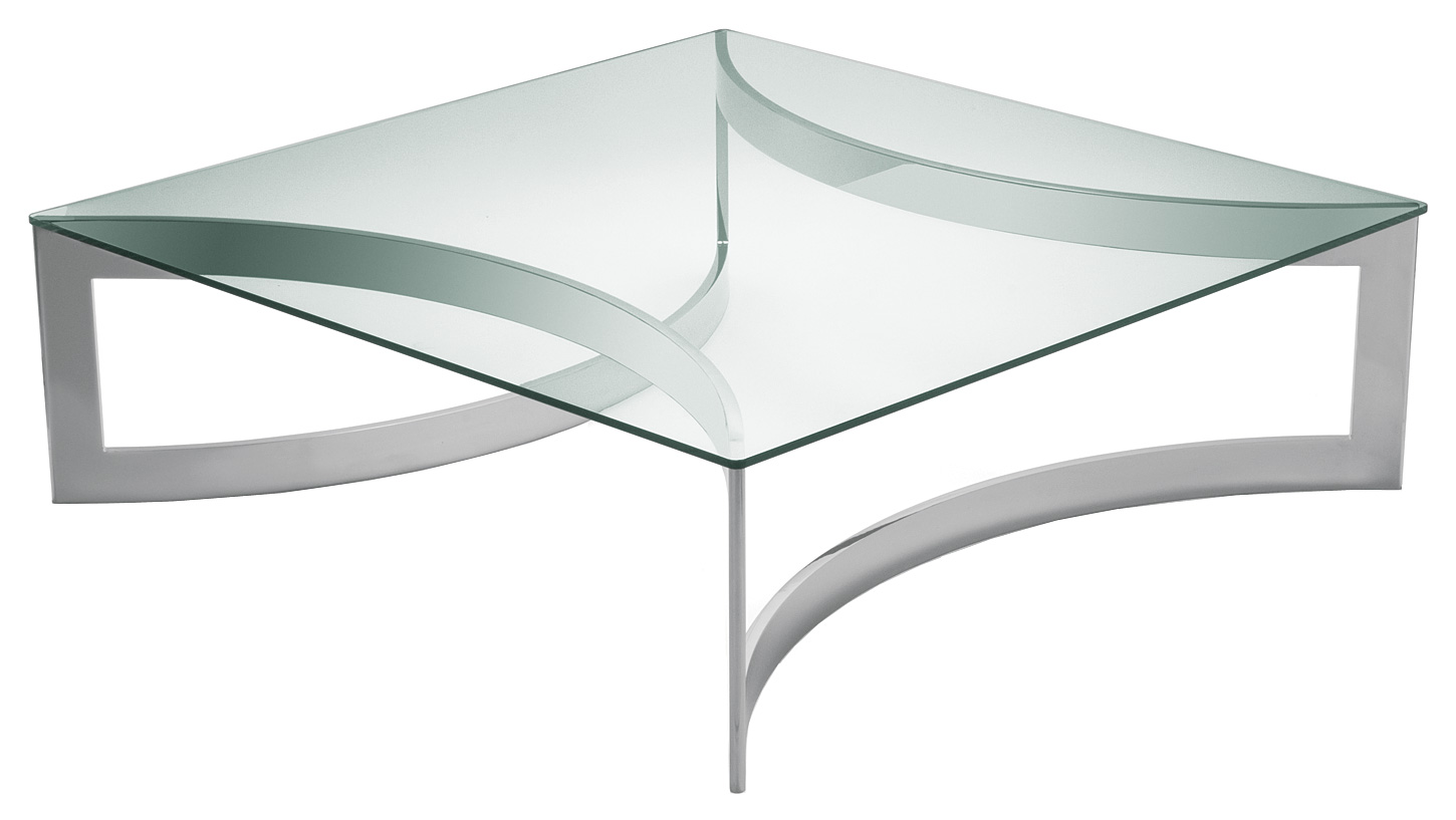 Glass And Stainless Steel Coffee Table Is A Modern Style Of Table Could Be Different In Traditional Rely On The Fabric That To Make Use Of To Help (Image 7 of 10)