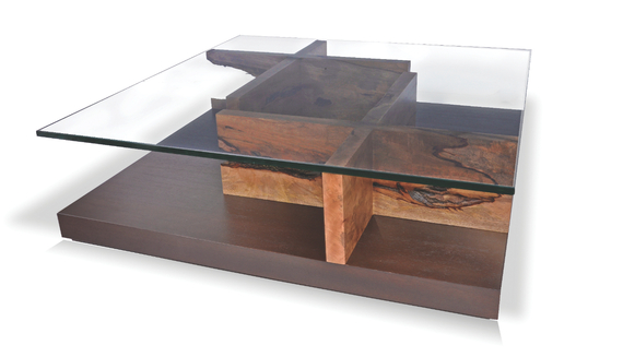 Glass And Wood Coffee Table Photo Gallery Of The The Combination Of Classics And Modern Accents In Dark Wood And Glass Coffee Table (Image 7 of 10)