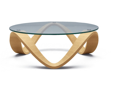 Featured Photo of Glass Circle Coffee Table Metal Base