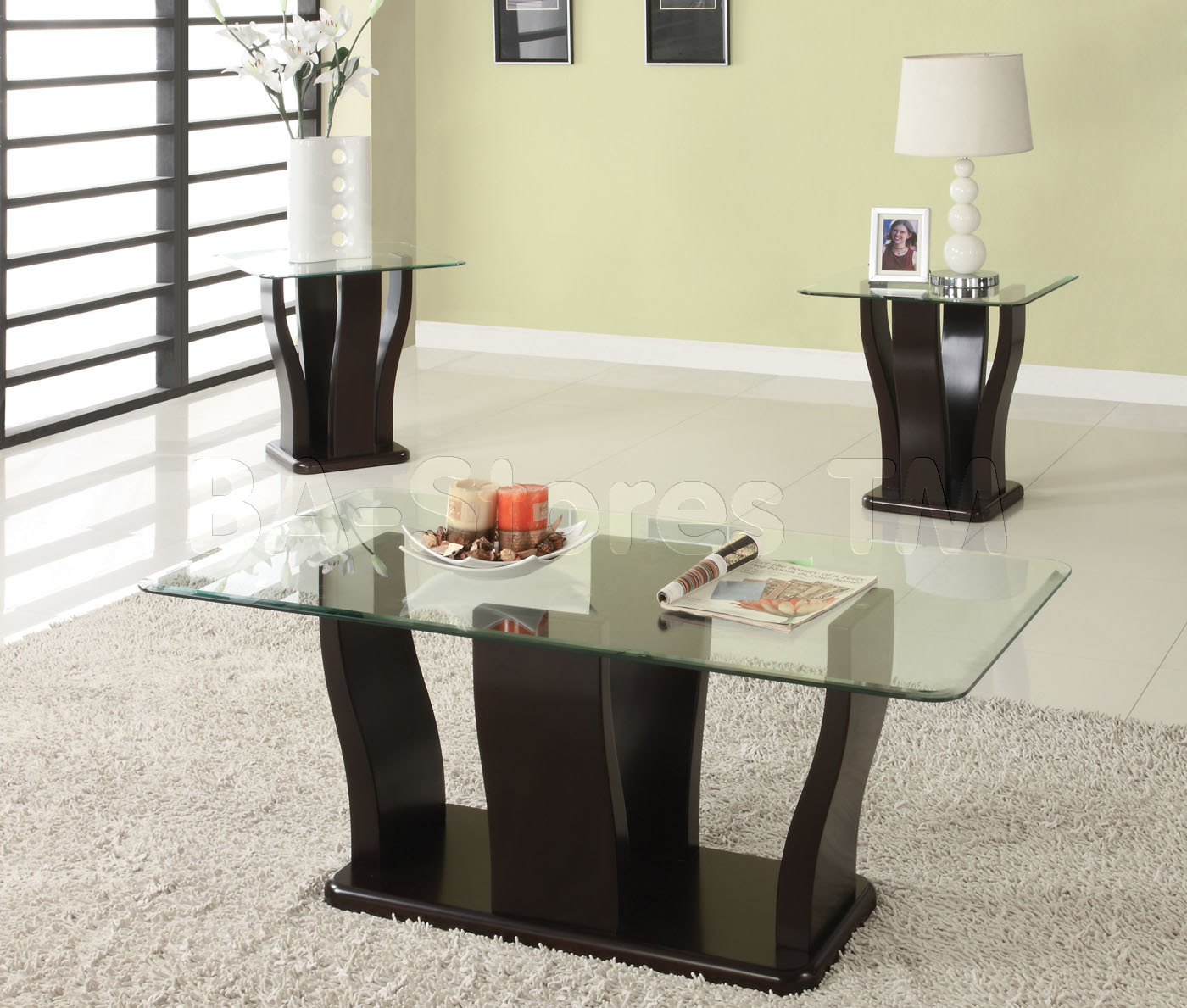 2019 Latest Glass Coffee Table Sets