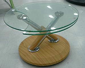 Glass Coffee Table Glass Top Round Coffee Table Glass Top Round Coffee Tables Glass And Metal End Tables (View 2 of 10)