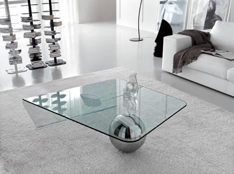 Glass Coffee Table Modern Scacco Glass Coffee Table By Cattelan Italia Modern Coffee Tables (Image 8 of 10)