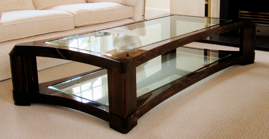2017 Latest Glass Coffee Table Top Decors